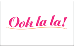 Buy Ooh la la! Gift Card