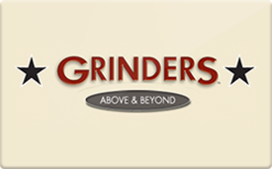 Sell Grinders Above & Beyond Gift Card