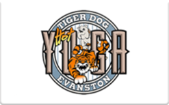 Sell Tiger Dog Hot Yoga Gift Card