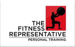 Sell The Fitness Representative Gift Card