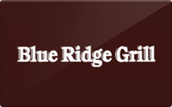 Sell Blue Ridge Grill Gift Card