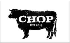 Sell Chop Chicago Gift Card