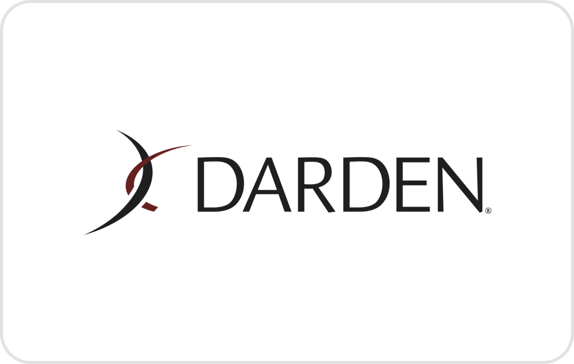 Darden Restaurants Card