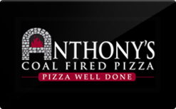 Sell Anthony's Coal Fired Pizza Gift Card