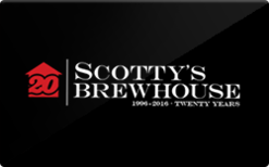 Sell Scotty's Brewhouse Gift Card