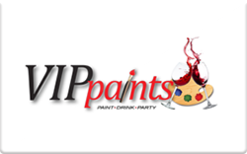 Sell VIP Paints Gift Card