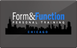 Sell Form & Function Fitness Gift Card