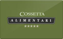 Sell Cossetta Gift Card