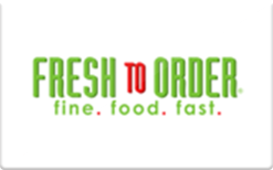 Sell Fresh to Order Gift Card