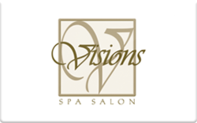 Buy Visions Spa Salon Gift Card