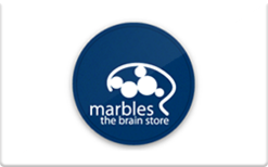 Sell Marbles: The Brain Store Gift Card