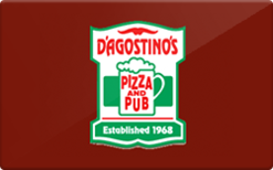 Sell D'Agostino's Pizza Gift Card
