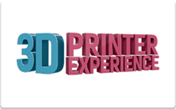 Sell 3D Printer Experience Gift Card