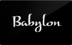 Sell Babylon Restaurant Gift Card