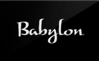 Buy Babylon Restaurant Gift Card