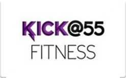 Sell Kick @55 Fitness Gift Card