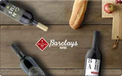 Sell Barclays Wine Gift Card