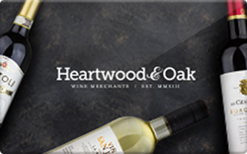 Sell Heartwood & Oak Wines Gift Card