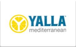 Sell Yalla Mediterranean Gift Card