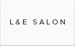 Sell L&E Salon Gift Card