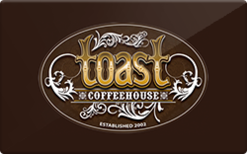 Sell Toast Coffeehouse Gift Card
