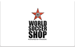 Sell World Soccer Shop Gift Card