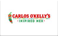 Buy Carlos O'Kelly's Gift Card