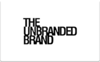 Buy The Unbranded Brand Gift Card