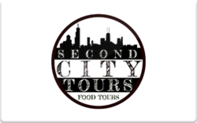 Buy Second City Tours Gift Card