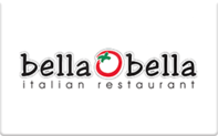 Buy Bella Bella Italian Restaurant Gift Card