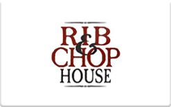 Buy Rib and Chop House Gift Card