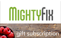 Sell Mighty Fix Healthy Products Subscription Gift Card