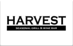 Buy Harvest Seasonal Grill & Wine Bar Gift Card