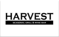 Buy Harvest Seasonal Grill & Wine Bar Gift Card