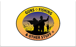 Buy guns fishing and other stuff gift cards raise for Guns fishing other stuff