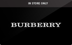 Sell Burberry (In Store Only) Gift Card