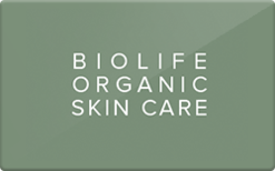 Sell Bio Life Organic Spa Gift Card