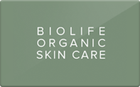 Buy Bio Life Organic Spa Gift Card