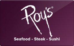 Sell Roy's Hawaiian Fusion Gift Card