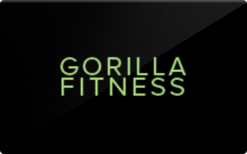 Buy Gorilla Fitness Gift Card