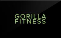 Buy Gorilla Fitness Gift Card