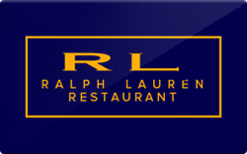 Buy Ralph Lauren Restaurant Gift Card