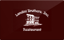Sell Landini Brothers Restaurant Gift Card