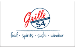 Sell Grille 54 Gift Card