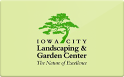 Sell Iowa City Landscaping & Garden Center Gift Card