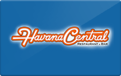 Sell Havana Central Restaurant & Bar Gift Card