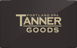 Sell Tanner Goods Gift Card