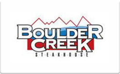 Buy Boulder Creek Steakhouse Gift Card