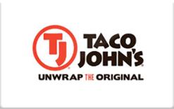 Sell Taco John's Gift Card