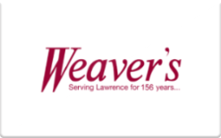 Sell Weaver's Gift Card